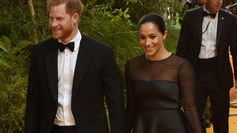 Prinz Harry und Herzogin Meghan zollen dem Remembrance Sunday in L.A. Tribut