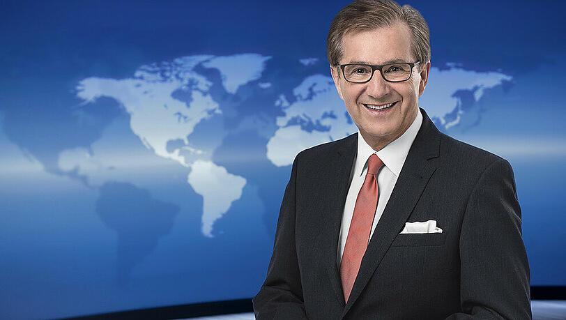 Nach Tagesschau: Jan Hofer moderiert 'Punkt 12 '