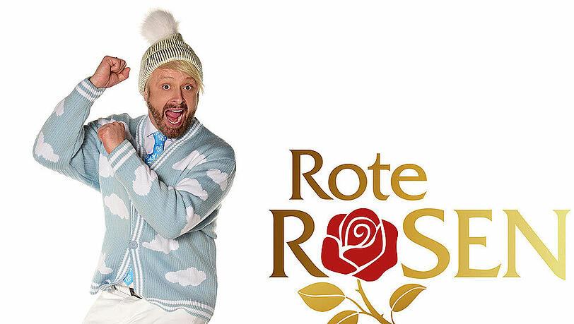 'Rote Rosen': Ross Antony spielt einen waghalsigen Wettermann
