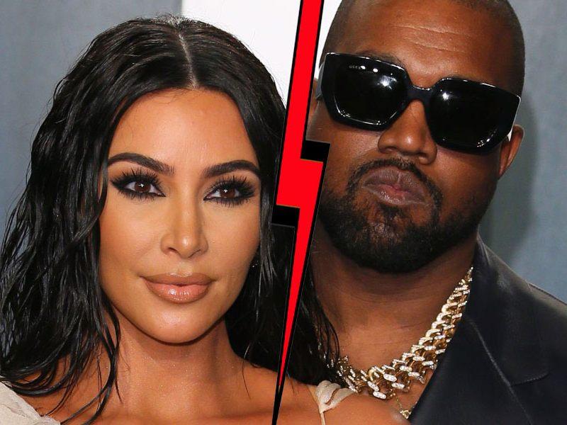 Kanye West und Kim Kardashian leben getrennt