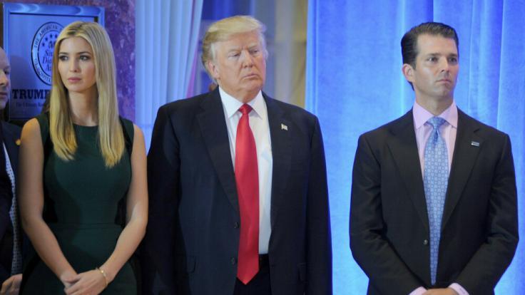 Secret Service: Donald Trump verlängerte Secret-Service-Privilegien seiner Kinder