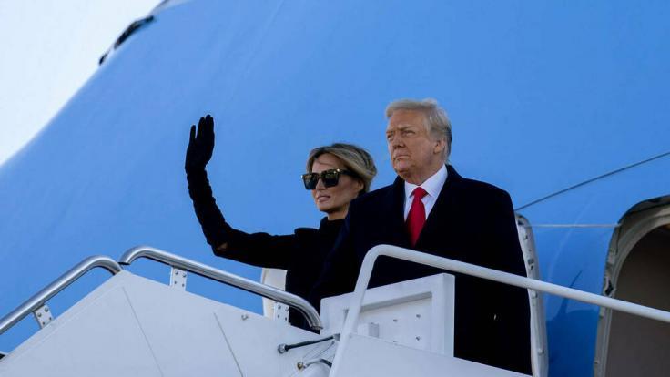 Washington D.C.: Donald und Melania Trump haben Washington verlassen