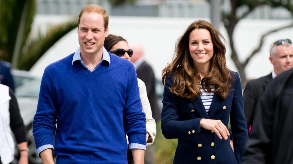 Herzogin Kate und Prinz William haben einen neuen Familienhund