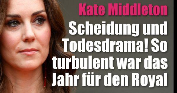 Kate Middleton: Baby-News, Scheidung und Todesschock! So turbulent war ihr Jahr