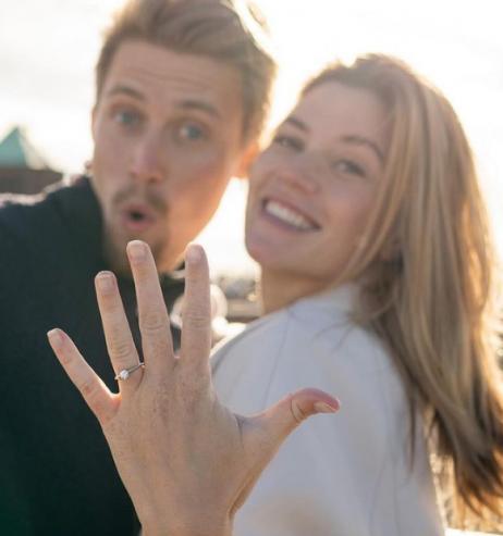 Nadine Klein: Verlobungs-Hammer