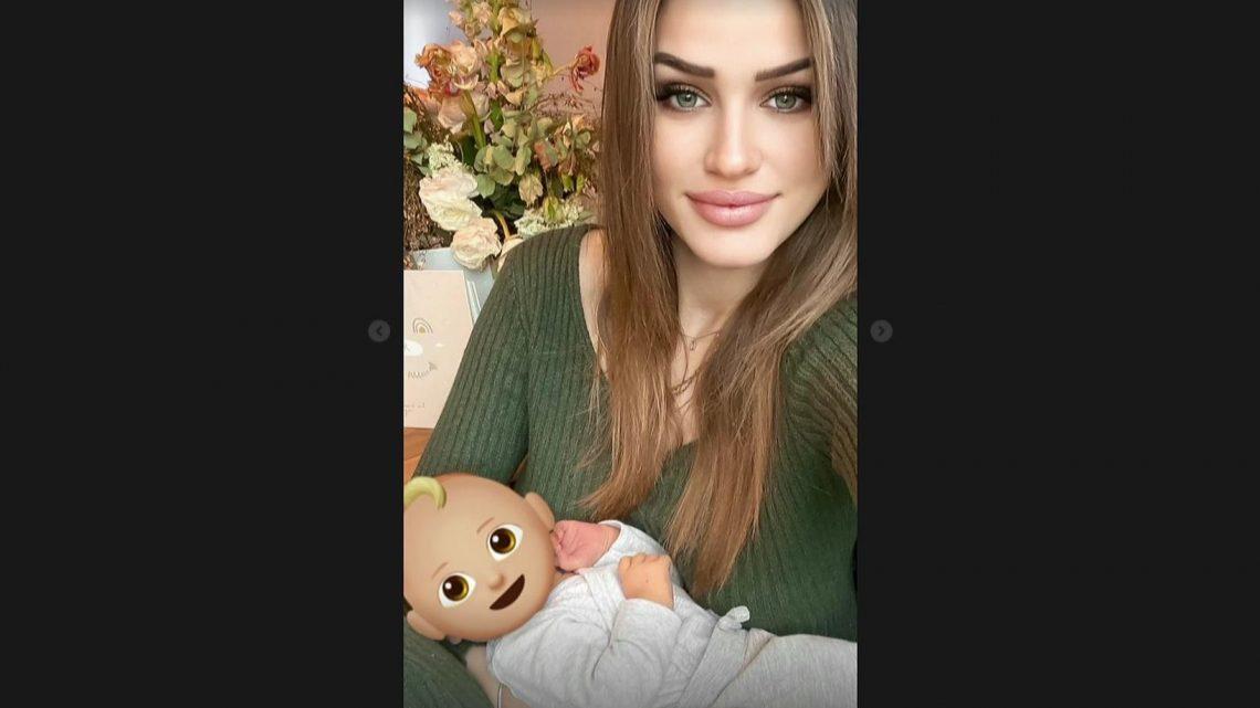 Neu-Mama Neele Bronst hat Angst: Das Baby des Ex-GNTM-Stars wimmert im Schlaf