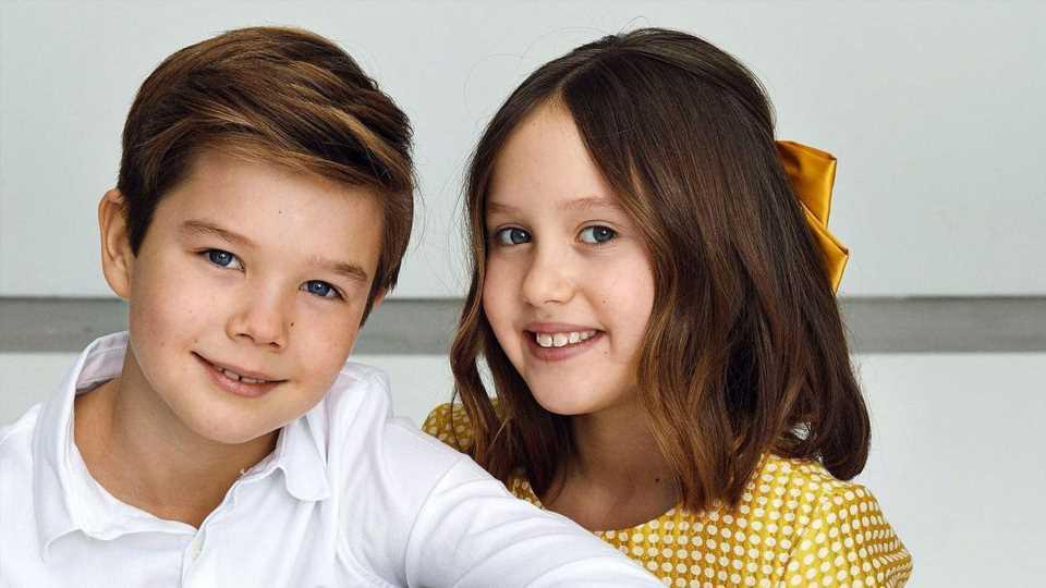 Richtig erwachsen: Dänen-Zwillinge feiern zehnten Geburtstag
