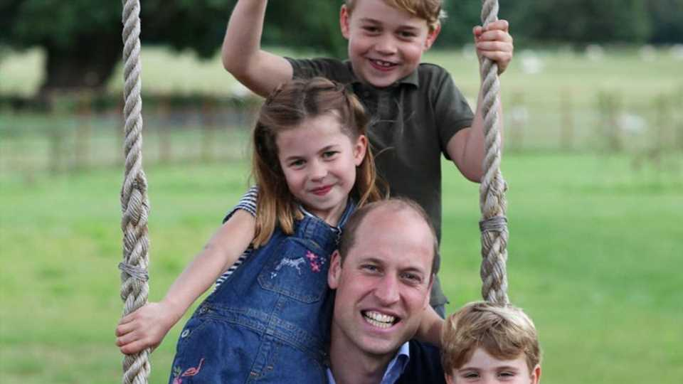 Prinz William spricht mit seinen Kids über Gesundheitskrise