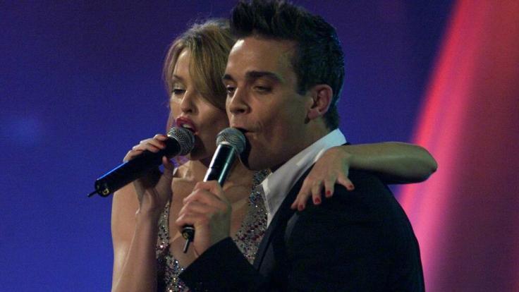 Reunion: Robbie Williams: Neuer Song mit Kylie Minogue