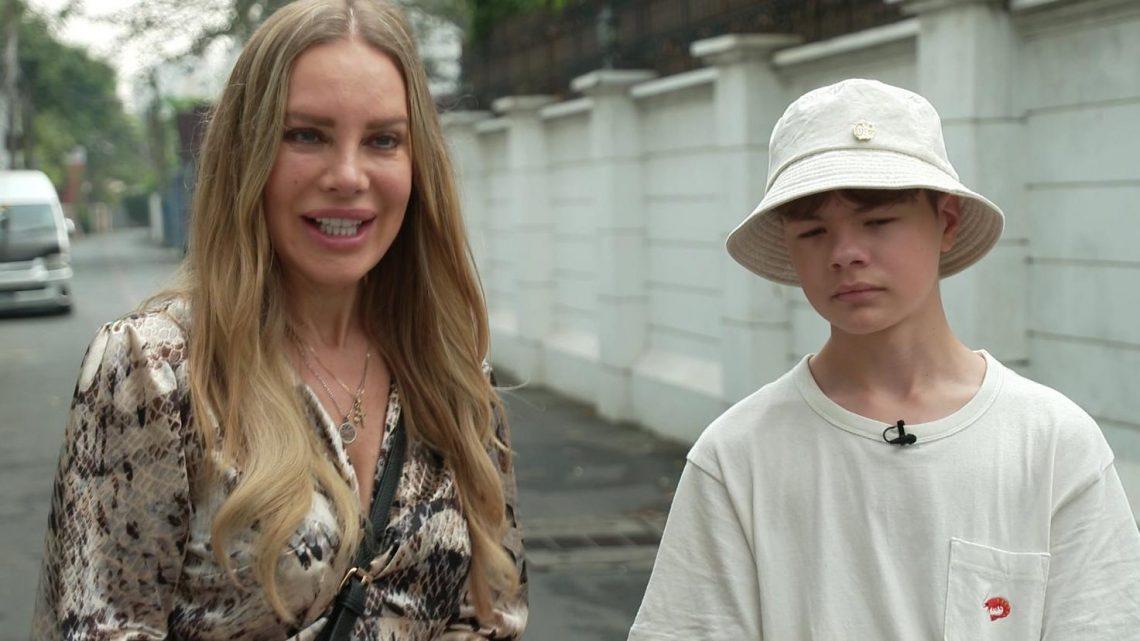 Xenia Seeberg: Ausgewandert, damit Sohn Philias endlich glücklich ist