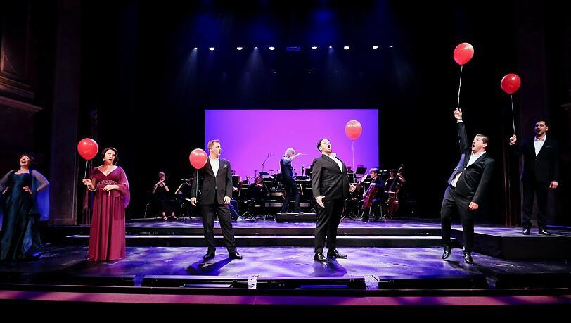 Liebe, Freude, Luftballon: Ein hinreißendes Streaming-Konzert