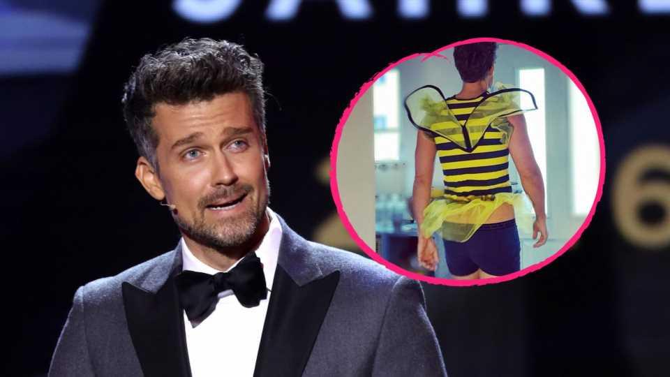 "Wayne Carpendale amüsiert Fans mit XS-""Biene Maja""-Kostüm"