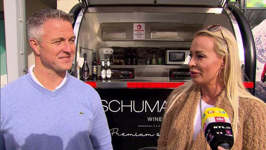 Nach Aufmerksamkeiten an Valentinstag: Darum verstehen sich Ralf und Cora Schumacher wieder so gut