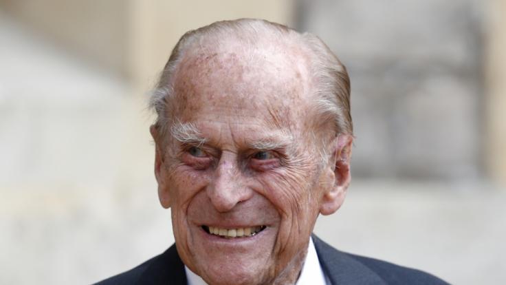 Prinz Philip im Krankenhaus: Sorge um ältesten Royal? So geht es dem Ehemann der Queen