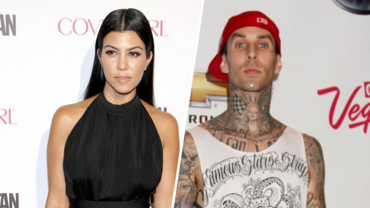 Travis Barker: Kourtney Kardashian und Travis Barker teilen erstes Pärchenfoto