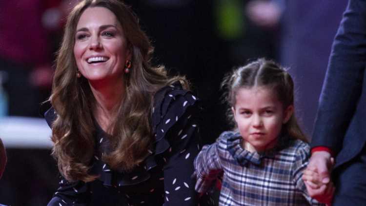 Herzogin Kate: Diese Geste hat Prinzessin Charlotte von der Mama geerbt