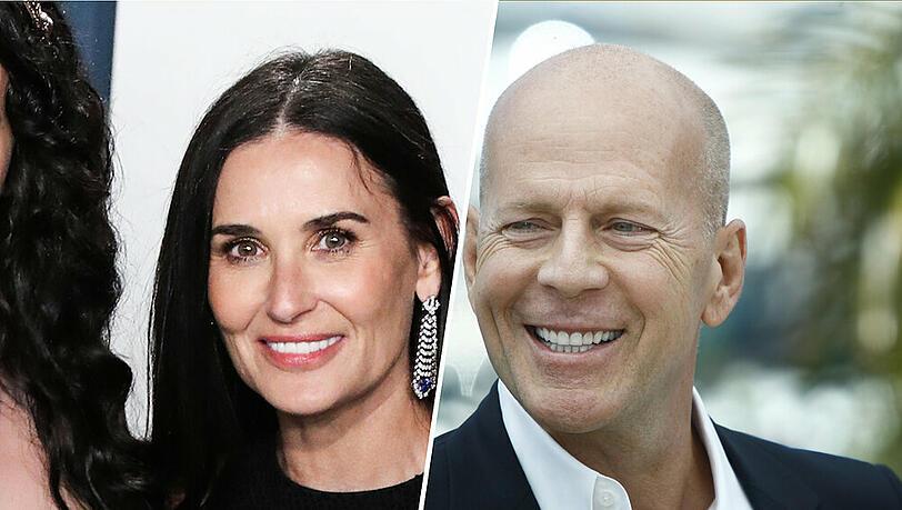 Demi Moore feiert den Geburtstag von Ex-Mann Bruce Willis