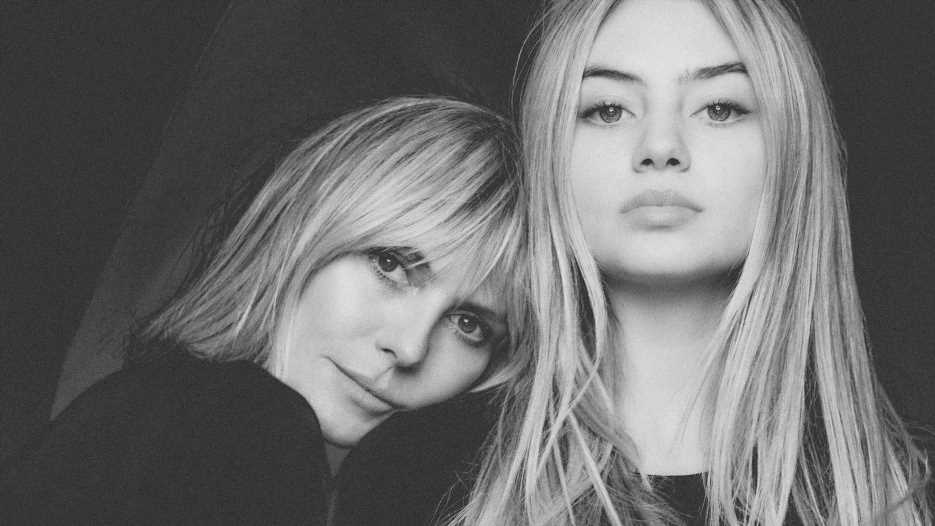Ohne Make-up und Filter: Heidi Klum und Tochter Leni so wie Gott sie schuf