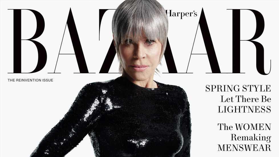 """Hollywood-Star Jane Fonda strahlt mit 83 Jahren auf """"Harper's Bazaar""""-Cover"""