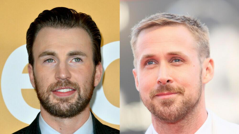 Drehstart für Netflix-Thriller mit Chris Evans und Ryan Gosling