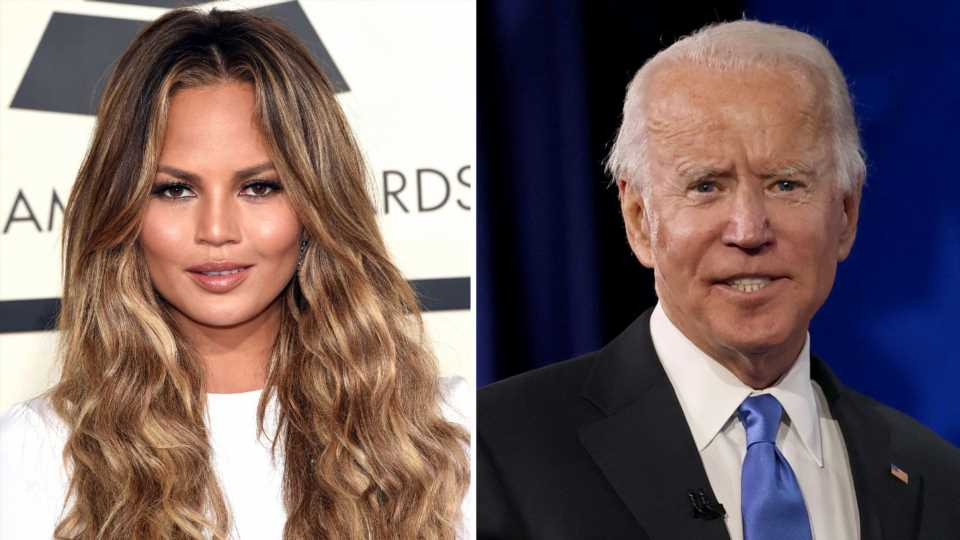 Chrissy Teigen erleichtert: Joe Biden folgt ihr nicht mehr