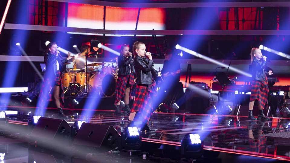 """Total mutig"": Erste Girlgroup rockt ""The Voice Kids""-Bühne"