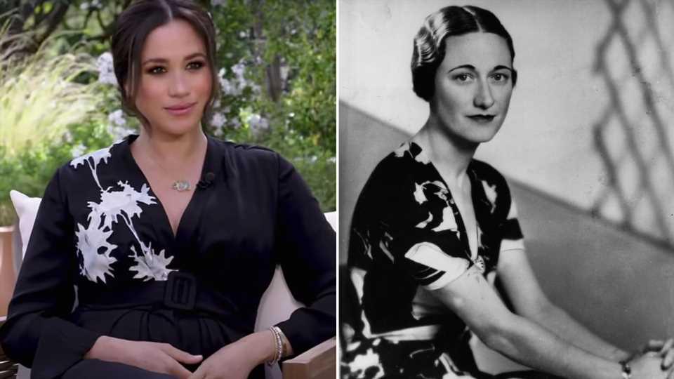 Oprah-Interview: Spielt Meghans Kleid auf Wallis Simpson an?