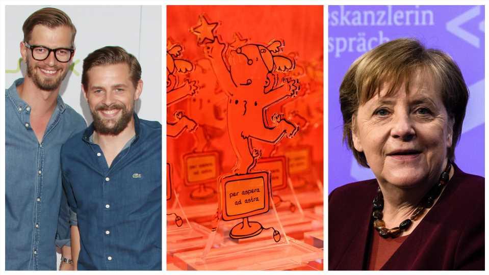 Joko & Klaas und Angela Merkel für die Goldenen Blogger nominiert
