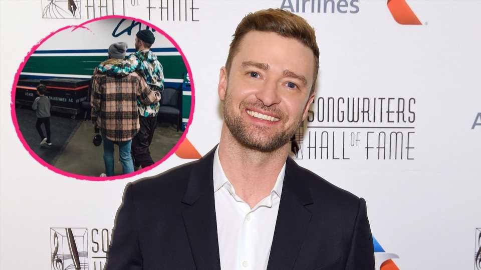 Justin Timberlake teilt seltenes Familienfoto mit Sohn Silas