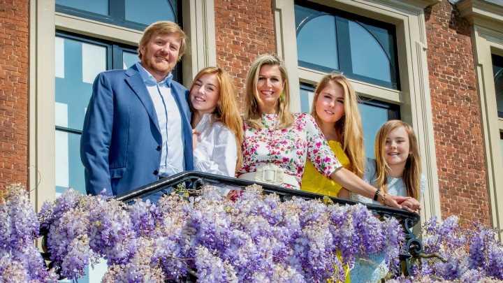 Neuer Familienauftritt am Königstag