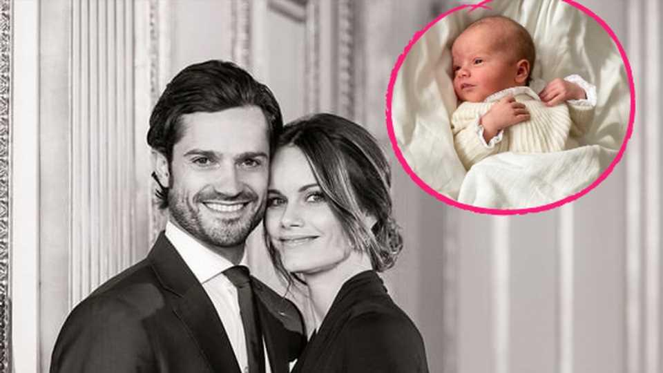 Nach Namensverkündung: Erstes Bild von Schweden-Prinz Julian