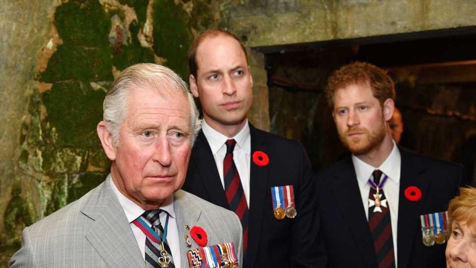 """""""Nicht produktiv"""": Harry sprach mit William und Charles!"""