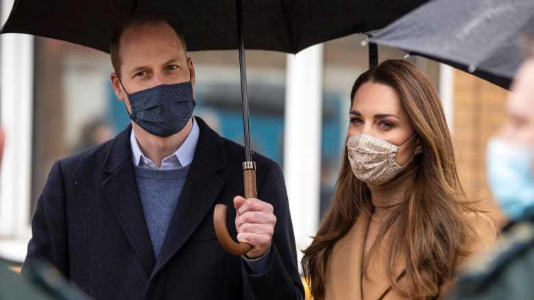 Prinz William und Herzogin Kate zeigen sich als feste Einheit
