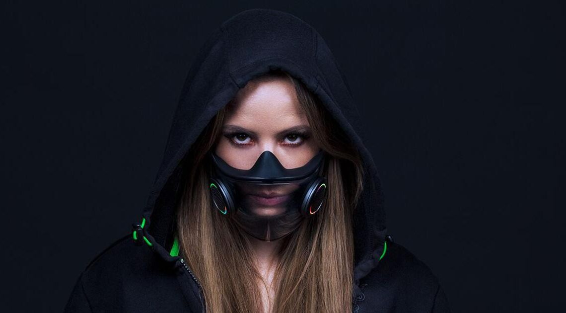Gaming-Experte Razer plant stylishe Hightech-Atemschutzmaske