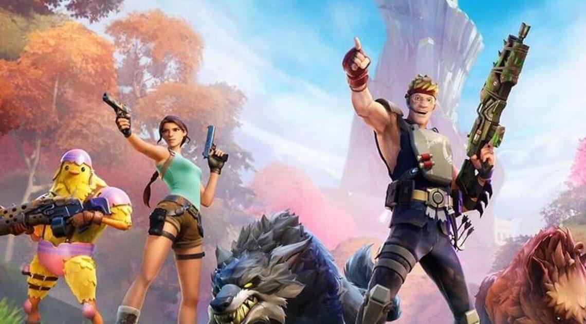 """Es wird urzeitlich bei Fortnite: """"Season 6 bringt Fußballer Neymar, Lara Croft und Tiere"""