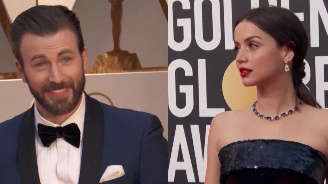 """Bond""-Girl Ana de Armas soll mit ""Captain America""-Star Chris Evans liiert sein"