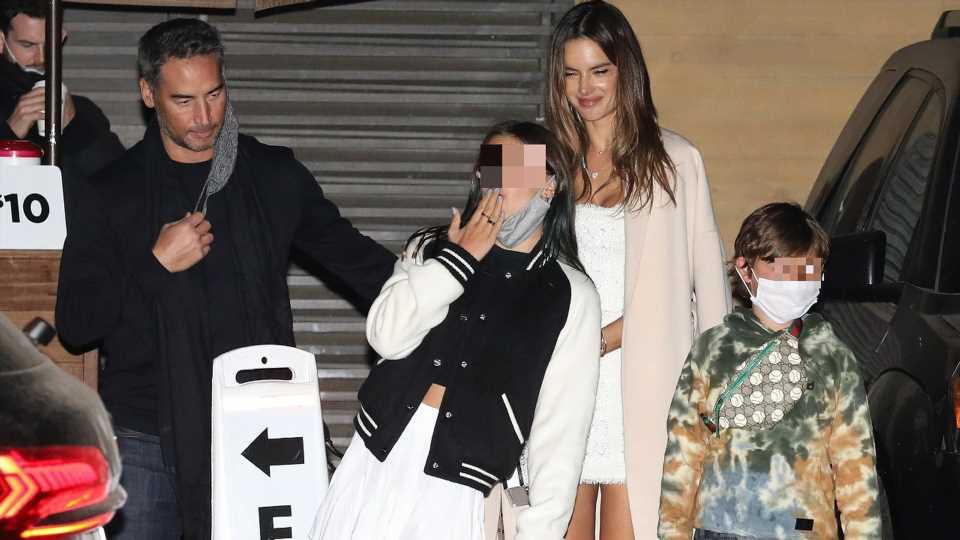 Alessandra Ambrosio mit neuem Freund und Kindern gesichtet
