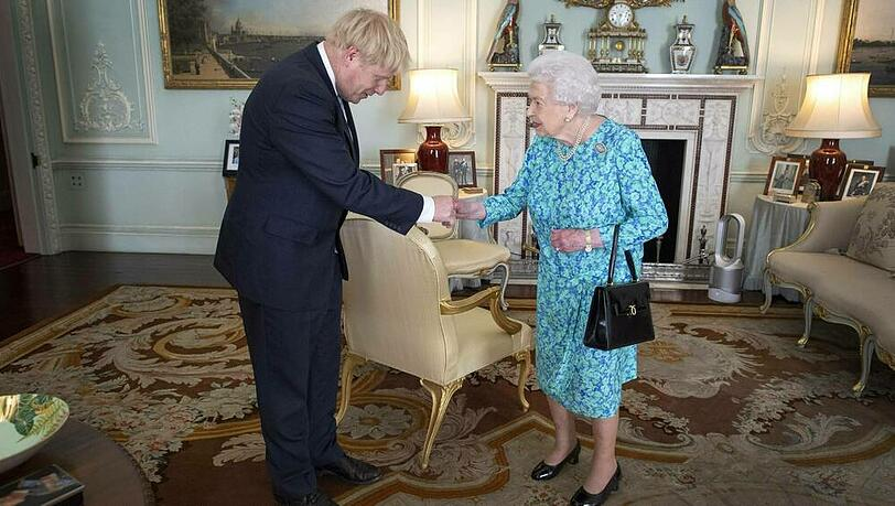 Boris Johnson gratuliert Queen Elizabeth II. zum 95. Geburtstag