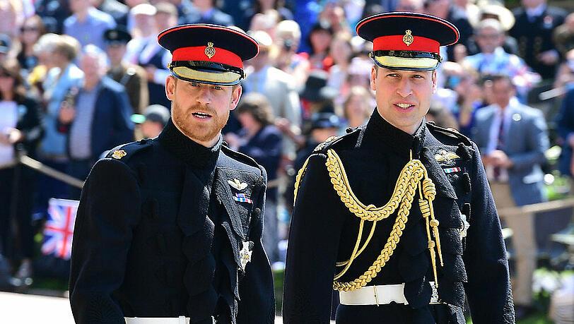 Letztes Geleit für Prinz Philip: Harry und William werden nicht nebeneinander laufen