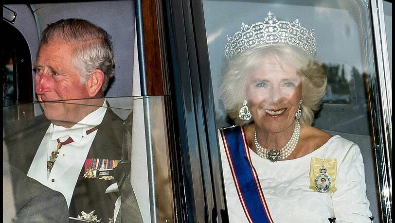 Prinz Charles wird König: Welchen Titel trägt dann Camilla?