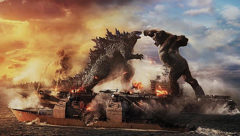 'Godzilla vs. Kong' stellt Pandemie-Rekord auf