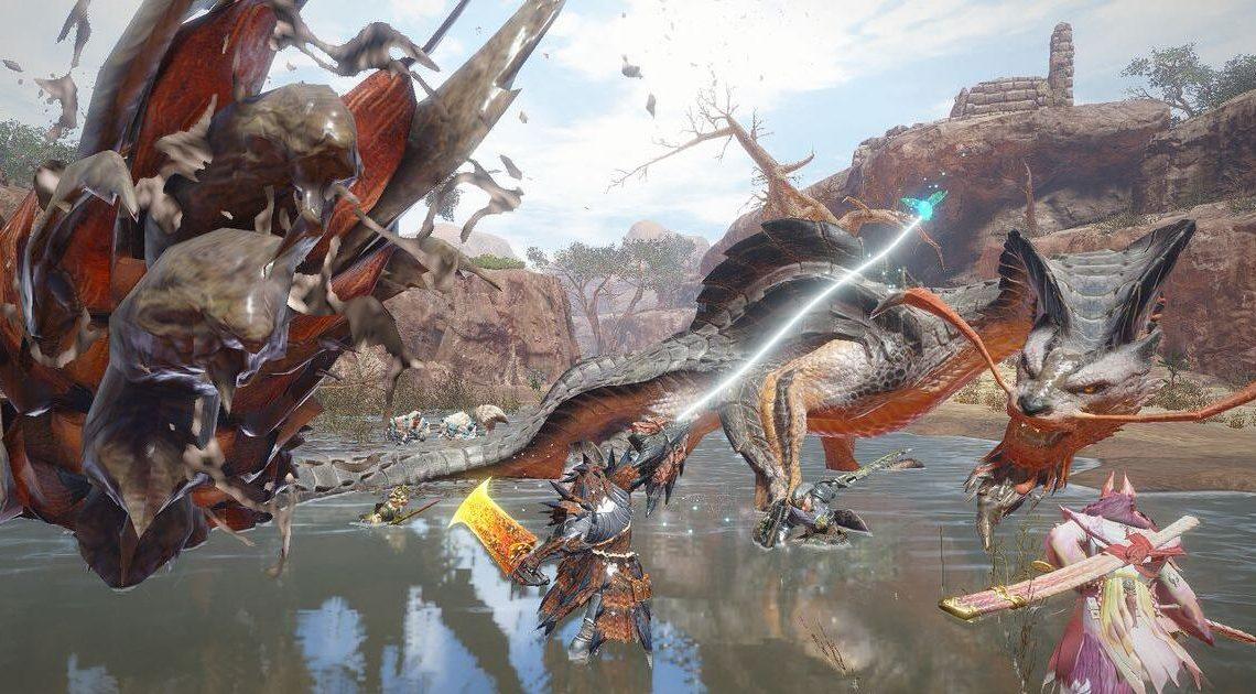 """Capcom macht fette Beute: """"Monster Hunter Rise"""" fünf Millionen Mal in einer Woche ausgeliefert"""