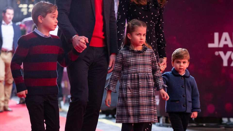 So haben George, Charlotte und Louis das Osterfest gefeiert!