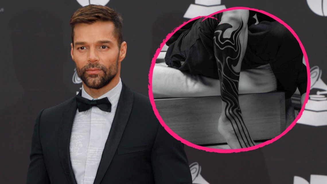 Ganzer Unterschenkel: Ricky Martin präsentiert neues Tattoo