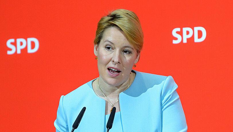 Bundesfamilienministerin Franziska Giffey bittet 'um Entlassung'