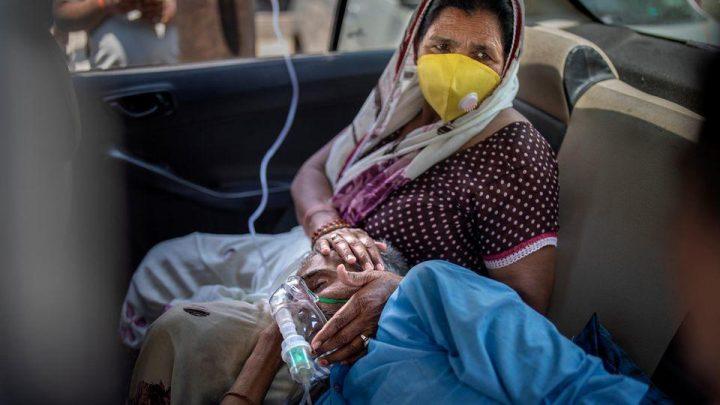 Corona-Chaos in Indien: Verzweifelte Bürger rufen auf Social Media nach Hilfe