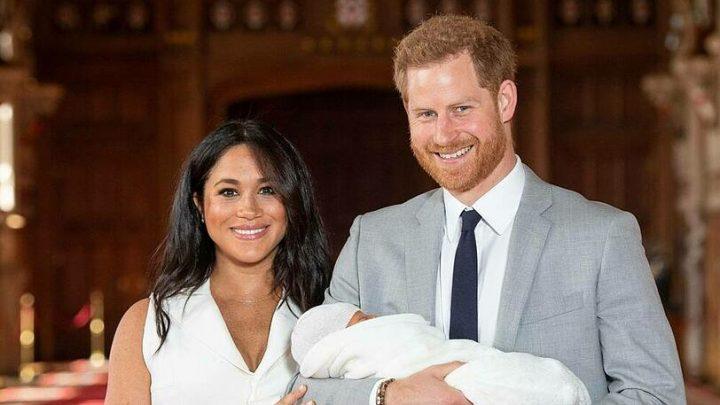 Die britische Königsfamilie gratuliert Archie mit alten Fotos