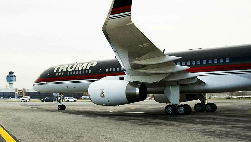 Donald Trumps Boeing 757 soll bald wieder abheben