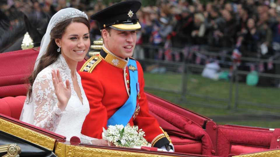 Gewusst? Reitunfall bei Kate und Williams Hochzeitsparade