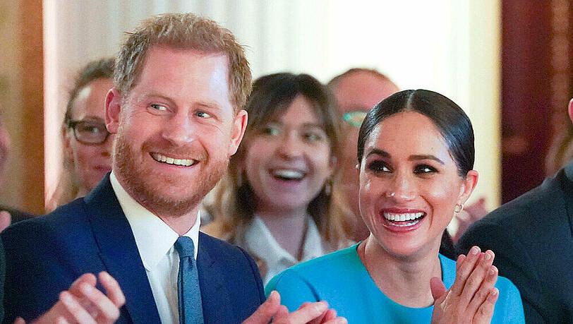 Harry und Meghan: Fast die Hälfte der Briten für Abgabe ihrer Titel
